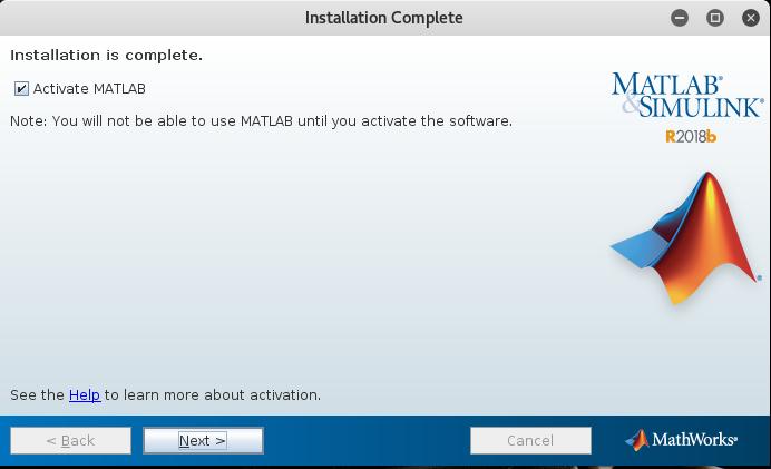 matlab-activation