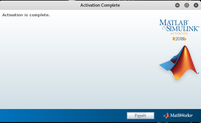 matlab-activation-complete