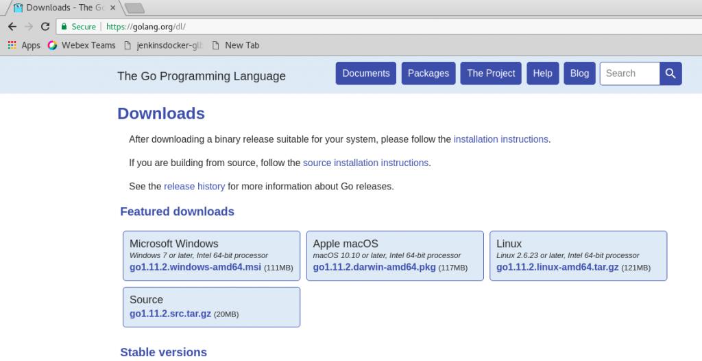 golang-download